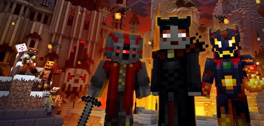 Pack de aspectos de villano de Minecraft