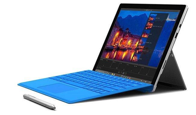 Surface Pro 4, con lápiz y funda-teclado incluidos