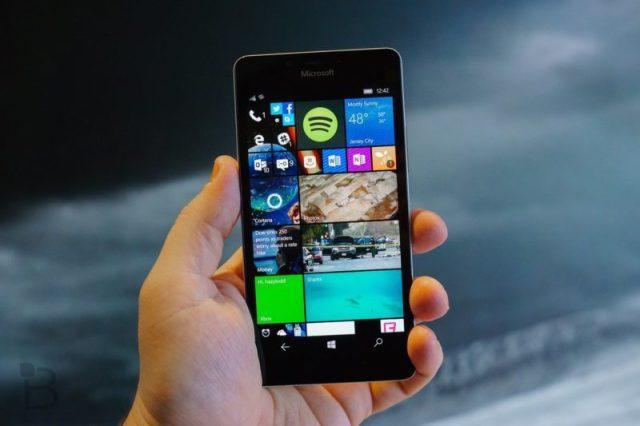 Windows diez Mobile