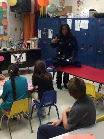 Career Day at Simmons Elementary