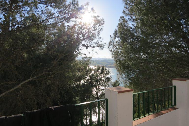 Ausblick zum See von der Terrasse