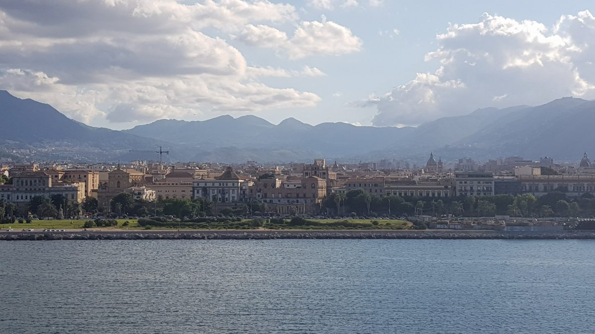 Sizilie, Palermo mit der Fähre