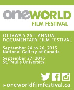 OWFF 2015 - September 24-27