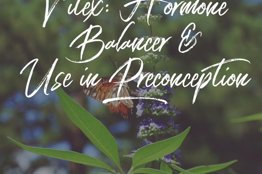 Vitex: Hormone Balancer & Use in Preconception