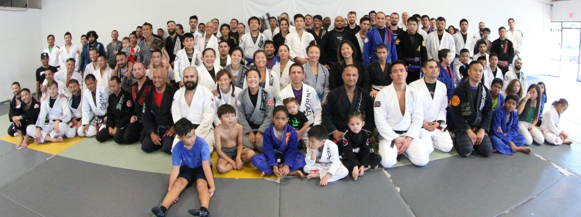 One World Brazilian Jiu Jitsu 2019 Group Shot