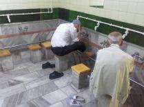 Reinigung vor dem Moscheebesuch