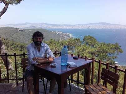 Auf Adalar, Blick auf Istanbul