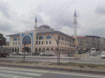 Moschee und Shopping in einem, das gibt es auch
