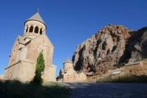 Übernachtung auf Kloster Noravank