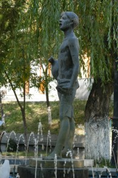 Kunst in Kajaran, die letzte Übernachtung in Armenien