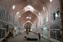 Teppich Bazaar, leider schon kurz vor Toreschluss