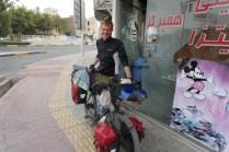 Radkollege Dr. Benno Salwey aus Freiburg. Wir fahren ab Esfahan drei Tage zusammen, bevor wir uns am vierten verlieren und in Shiraz wiedertreffen. Benno fährt danach eine Woche mit dem Bus zurück nach Teheran, um sein Indien-Visa zu organisieren und Freunde zu treffen