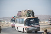 Mit diesem Bus schien irgendetwas nich ganz in Ordnung zu sein.