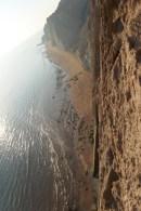 Noch mehr ganz viel Steilküste zum schwindelig werden...