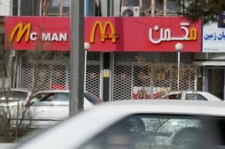 Mc Man scheint nicht so gut angekommen zu sein bei den Iranern.