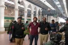 Geschafft: Ankunft in Lahore.