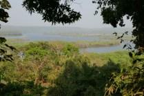 Nach 10 km mit dem Boot von der Südspize Mumbais ist man in der Natur.