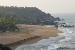 Honey-Beach kurz vor Gokarna.
