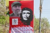 El Kommandante und Fidel allerorts: Kerala wurde bis vor wenigen Jahren von den Kommunisten regiert. Demokratisch gewählt..