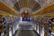 Tempeleingang.