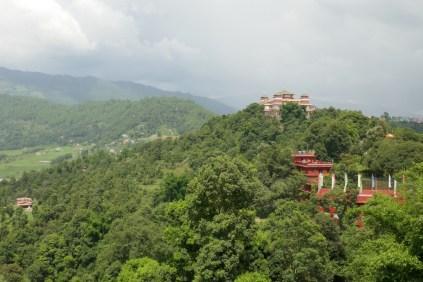 Tagesausflug per Rad zum buddhistschen Kloster Kopan 10 km ausserhalb von Kathmandu