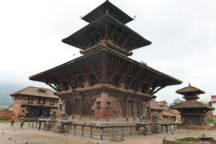Tempel in Panauti, Endpunkt der Wanderung.