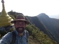 Der grandiose Vulkankrater von Mt. Popa.