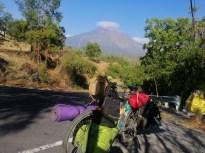 Agung, mit 3.031 m der höchste Berg auf Bali. Klasse Vulkan, seit ein paar Monaten gesperrt wegen Aktivität.