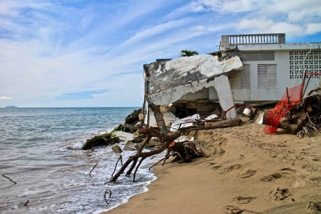 Puerto Rico's power plants are also at risk from sea level rise. Many of them are near the coast. (Janice Cantieri/MEDILL)