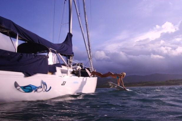 costa rica, surfing, ship, ocean