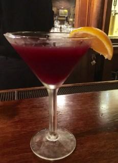 Purple Martin Martinis