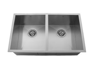 OU3219 SQ, Double Bowl, Stainless Steel, Onex Enterprises, Kitchen Sinks in Canada