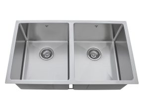 OU3218 SQR R10, Double Bowl, Stainless Steel, Undermount, Designer Collection, Onex Enterprises, Proud to Serve in Canada