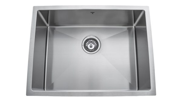 OUS2418 SQR R10, Single Bowl, Designer Collection, Stainless Steel, Onex Enterprises, Kitchen Sink in Canada