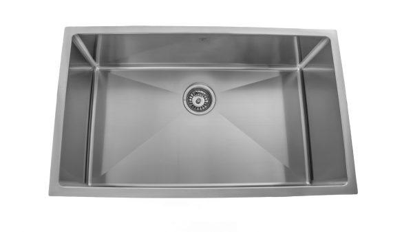 OUS3219 SQR R15, Single Bowl, Undermount, Designer Collection, Onex Enterprises, Kitchen Sinks in Canada