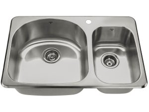 OD3120 9'7-1H, Onex Canada, Drop In, Stainless Steel, 1 Hole, Kitchen Sink
