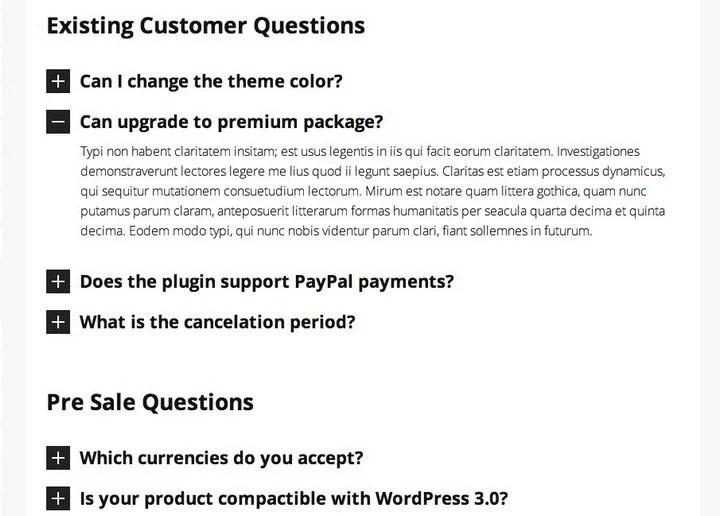 FAQ-Accordion Top 10 WordPress FAQ Plugins For Improving Customer Support