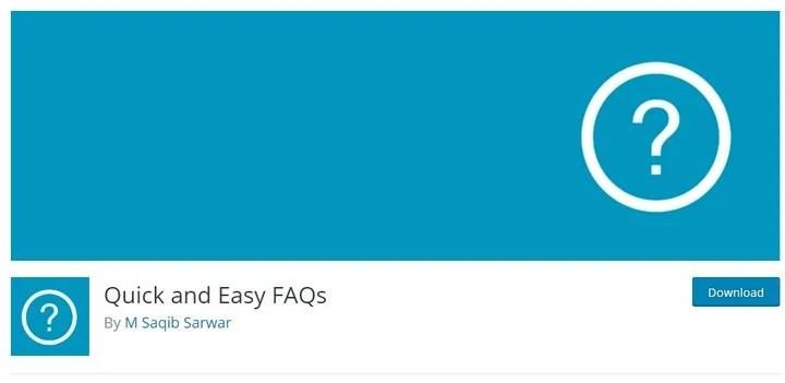 quick-easy-faq-1 Top 10 WordPress FAQ Plugins For Improving Customer Support