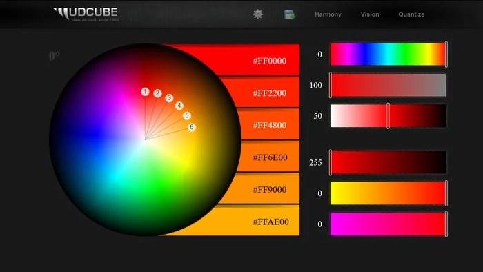 MudCube Color Palette Generator