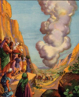 Israelites in the Desert