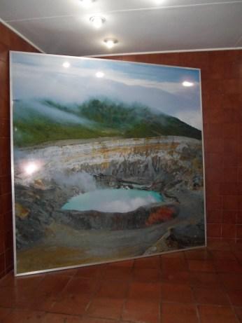 Volcan Poas poster