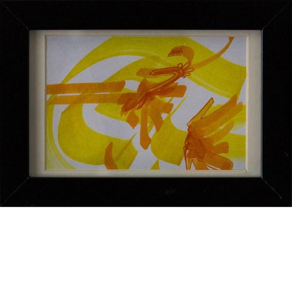 Loomit | Kalligraphie Gelb