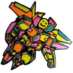 Lady Wave & Oz | Gundam Smiley