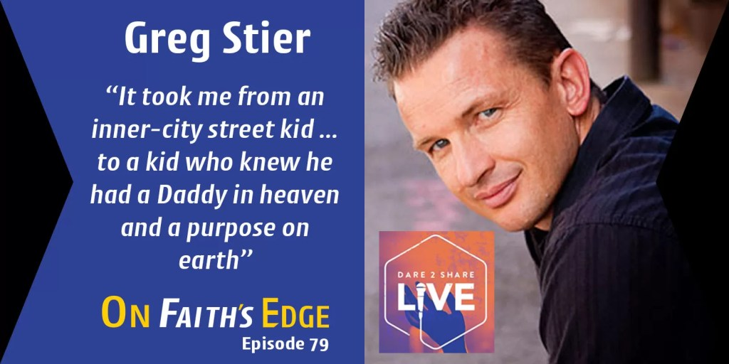 Energizing Teens to Live Their Faith – Speaker and Author Greg Stier | Episode 79
