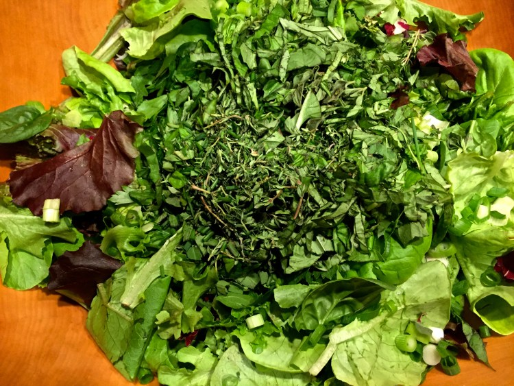 Add herbs