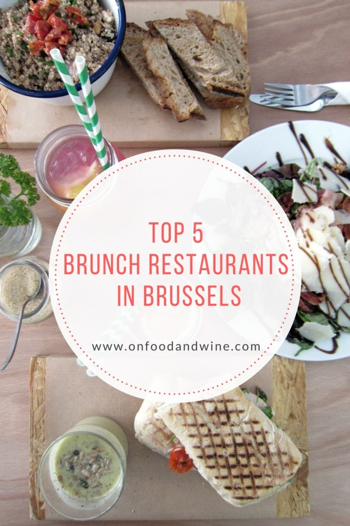 5 brunch restaurants in Brussels by @onfoodandwine