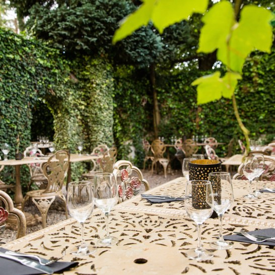 Brussels restaurants with a great terrace by @onfoodandwine