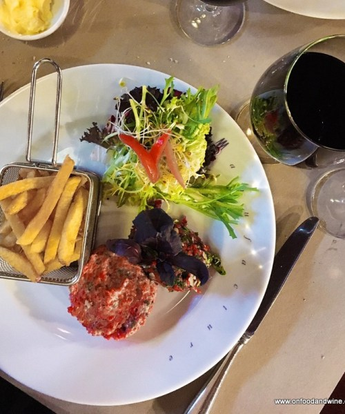 dinner at the fantastic #Brussels restaurant La Manufacture - review by @onfoodandwine