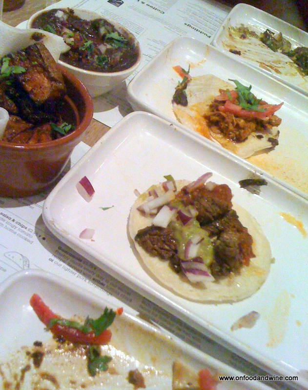 eating out at Wahaca #London - by @onfoodandwine