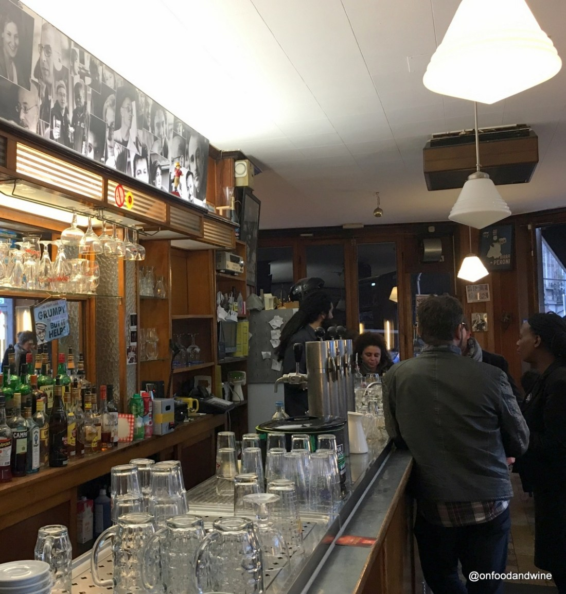 drinking Belgian #beer at Bar de l'Union in #brussels cc @visitBrussels